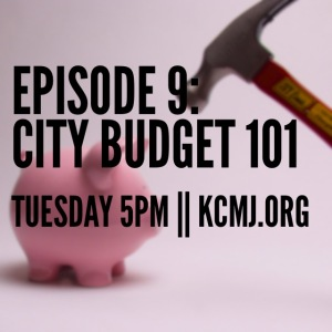 Start with an overview of the City Budget and laugh as Jeff and I try to say Math numbers.
